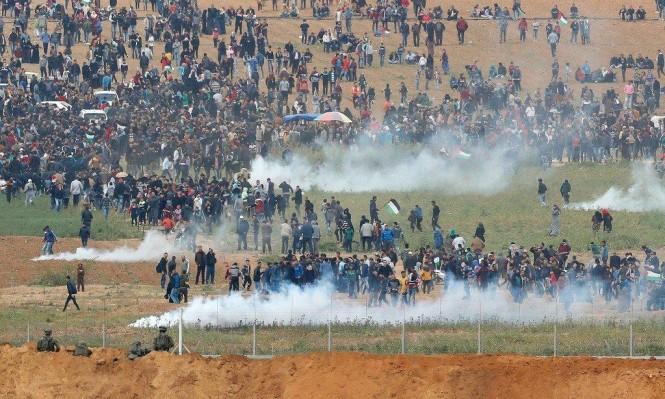 مسيرات العودة في غزة وتباكي إسرائيل على البيئة