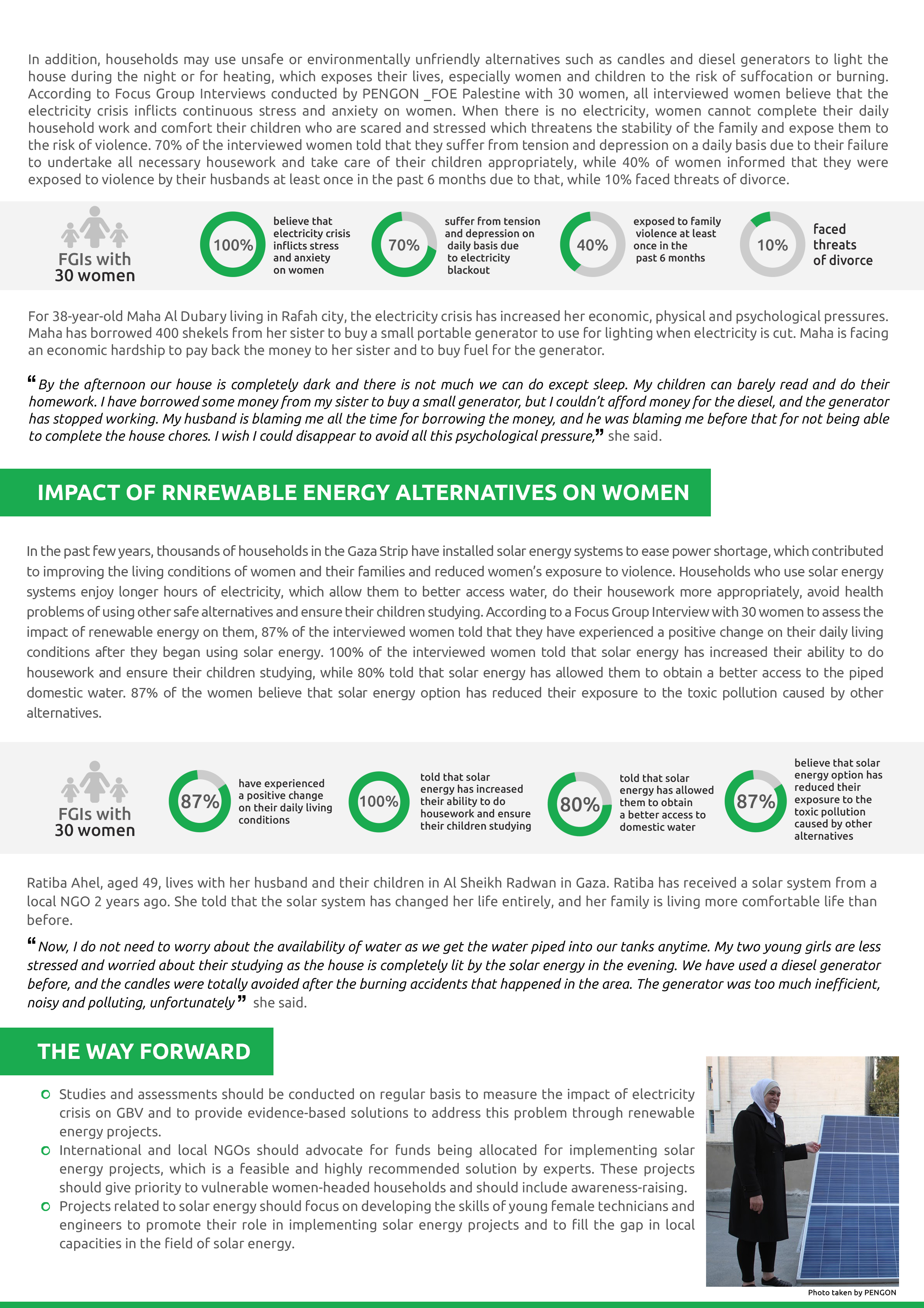 Gender and Energy - Fact Sheet